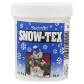 DecoArt Snow-Tex - 4 Ounce